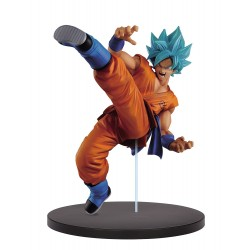 Figura Son Goku Super Saiyan God Blue FES!! 19 cm Banpresto